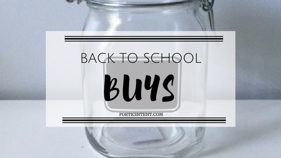Back To School Buys