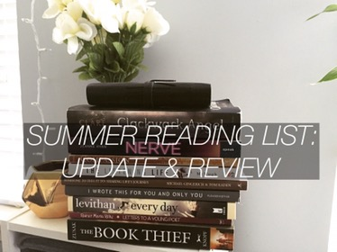 Summer Reading List: Update & Review