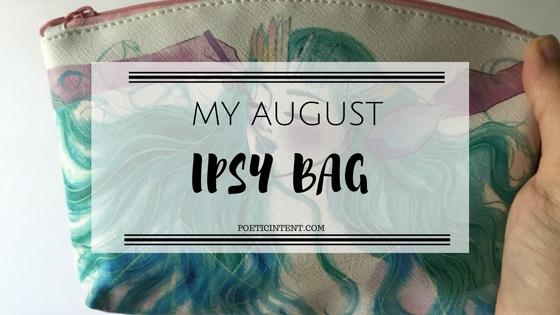 My August IpsyBag